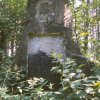 Lipoltov - pomník obětem 1. světové války   zchátralý pomník obětem 1. světové války v zaniklé vsi Lipoltov - červenec 1982; foto Stanislav Wieser