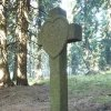 Boží Dar - kamenný kříž   kamenný kříž u Božího Daru - říjen 2013