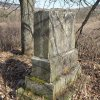 Dlouhá - pomník obětem 1. světové války | torzo rozvaleného pomníku padlým - březen 2017