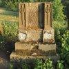 Dlouhá - pomník obětem 1. světové války | torzo pomníku padlým v Dlouhé - srpen 2018