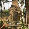 Dlouhá - pomník obětem 1. světové války | znovuvztyčení pomníku padlým - září 2018