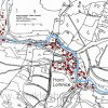 Horní Lomnice (Ober Lomitz)   katastrální mapa vsi Horní Lomnice z roku 1945