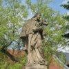 Bochov - socha sv. Jana Nepomuckého | sv. Jan Nepomucký - červen 2010