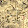 Radnice (Redenitz) | ves Radnice (Redenitz) na mapě 1. vojenského josefského mapování z let 1764-1768