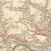 Žlutice - Schindlerova kaple | Schindlerova kaple u Žlutic na mapě Topografické sekce III. vojenského mapování ze 40. let 20. století