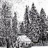 Rozhraní - kaple sv. Jana Nepomuckého | kaple sv. Jana Nepomuckého před rokem 1945