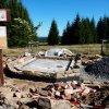 Rozhraní - kaple sv. Jana Nepomuckého | odhalení základového zdiva původní kaple - říjen 2013