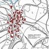 Jindřichov (Heinersdorf)   katastrální mapa vsi Jindřichov z roku 1945