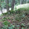 Vysoká Štola - kaple   zbytky kaple u osady Vysoká Štola - září 2010
