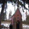 Karlovy Vary - kaple sv. Linharta | pseudogotická kaple sv. Linharta - únor 2010
