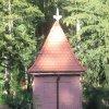 Karlovy Vary - kaple sv. Linharta | závěr kaple od jihovýchodu - říjen 2011