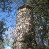 Kyselka - rozhledna Bučina | rozhledna Bučina od jihu - září 2012