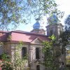 Skoky - poutní kostel Navštívení Panny Marie | západní průčelí kostela - říjen 2010