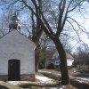 Stráň - kaple | vstupní průčelí bývalé obecní kaple od severu - březen 2013