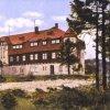 Rozhledna na Klínovci | hotel na Klínovci na kolorované pohlednici před rokem 1929