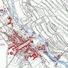 Doupov (Duppau) | katastrální mapa města Doupov z doby před rokem 1955