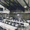 Rosnice (Rossnitz) | sál hostince Zur Waldschänke na fotografii z roku 1912