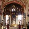 Ostrov - kostel sv. Michaela Archanděla | interiér farního kostela - září 2013
