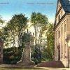 Ostrov - kaple sv. Floriána | kaple sv. Floriána v klášterním areálu v Ostrově na kolorované pohlednici z konce 19. století