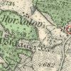 Dolní Valov - kaple   obecní kaple v Dolním Valově na mapě toposekce 3. vojenského mapování ze 30. let 20. století