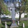 Údrč - pomník obětem 1. světové války | zadní strana pomníku padlým - říjen 2010