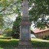 Močidlec - pomník obětem 1. světové války | přední strana pomníku - květen 2017