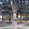 Stráž nad Ohří - sousoší Nejsvětější Trojice   sousoší Nejsvětější Trojice - listopad 2009