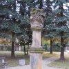 Stráž nad Ohří - sousoší Nejsvětější Trojice   přední strana sousoší - listopad 2009