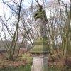 Údrč - socha sv. Jana Nepomuckého | socha sv. Jana Nepomuckého - prosinec 2009