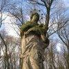 Údrč - socha sv. Jana Nepomuckého | svatý Jan Nepomucký - prosinec 2009