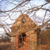 Tocov - kaple sv. Floriána   vstupní průčelí kaple - březen 2011