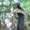 Valeč - Hoppova kaple | postupná destrukce závěru kaple - září 2013