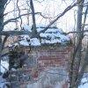 Valeč - Hoppova kaple | východní průčelí kaple - únor 2011