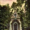 Karlovy Vary - kaple Ecce homo | nová pseudogotická kaple Ecce homo na kolorované pohlednici z roku 1900