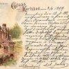 Karlovy Vary - pravoslavný kostel sv. Petra a Pavla   kostel sv. Petra a Pavla na pohlednici z roku 1899