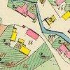 Děpoltovice - kaple | kaple u hospodářského dvora čp. 33 na císařském otisku mapy stabilního katastru obce Děpoltovice z roku 1842
