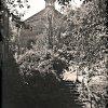 Ostrov - kaple sv. Anny | pohřební kaple sv. Anny v Ostrově před rokem 1945