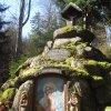 Karlovy Vary - lesní pobožnost | horní část oltáře - březen 2011