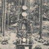 Karlovy Vary - lesní pobožnost | obrázek Panny Marie před rokem 1910