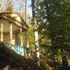 Karlovy Vary - Findlaterův altán   empírový Findlaterův altán v lázeňských lesích - říjen 2011