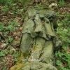 Svatobor - socha sv. Jana Nepomuckého   torzo vrcholové plastiky světce v roce 2007