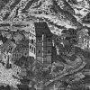 Karlovy Vary - stará radnice | renesanční radnice na rytině Johanna Schindlera z roku 1652