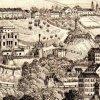 Karlovy Vary - vila Lützow | vila Lützow na Schäflerově litografii z doby kolem roku 1860