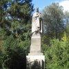Karlovy Vary - pomník Karla IV. | pomník císaře Karla IV. - říjen 2011