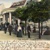 Karlovy Vary - Zámecká kolonáda   Zámecká kolonáda na kolorované pohlednici z roku 1905