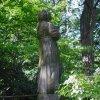 Drahovice – socha Panny Marie | barokní socha Panny Marie - červen 2009