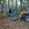 Žlutice - pomník Friedricha Ludwiga Jahna | obnova pomníku Friedricha Ludwiga Jahna - říjen 2013 (foto Jan Borecký)