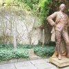 Žlutice - pomník Josefa II.   litinová socha císaře Josefa II. z bývalého pomníku  na dvoře žlutického muzea - září 2015