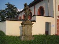 Štědrá - socha sv. Jana Nepomuckého |