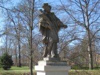 Ostrov - socha sv. Jana Nepomuckého |